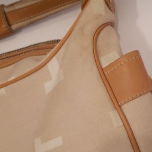 Tod's Bags - Tod's signature canvas and leather mini hobo bag